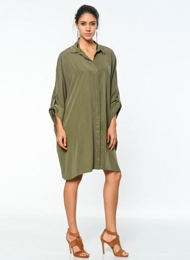 Bol Kesim Gömlek Elbise-Utopian